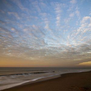 zonsondergang Strand wassenaar