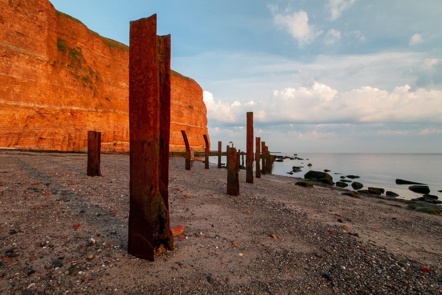 Het verhaal achter deze landschapsfoto, op Helgoland. 14