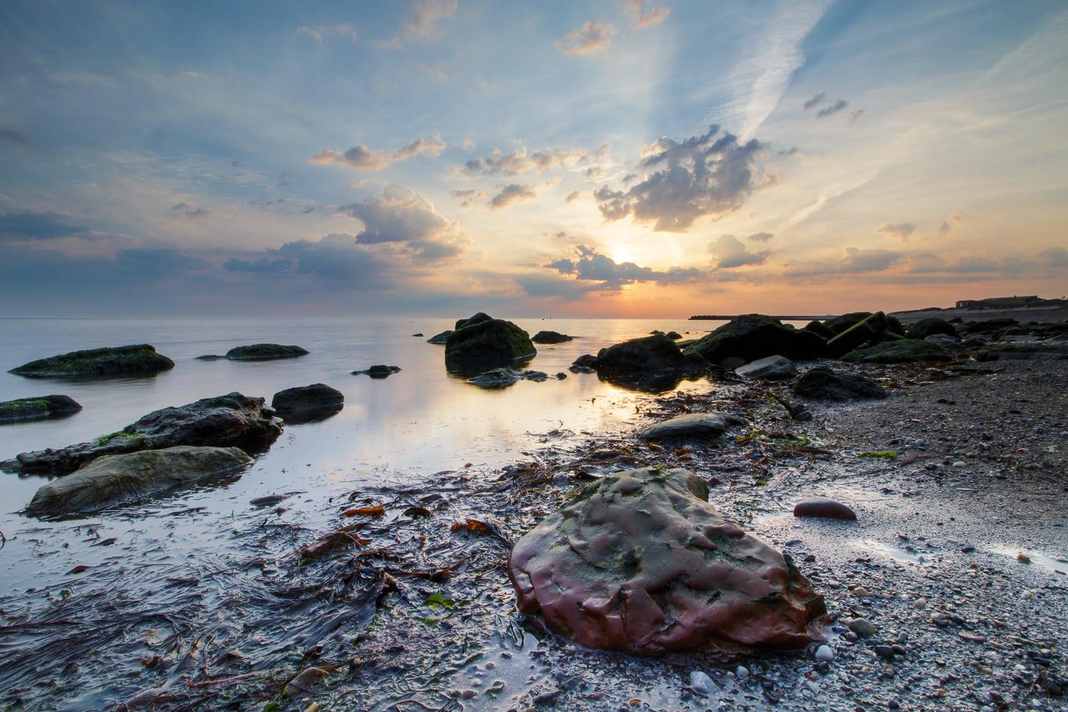 Het verhaal achter deze landschapsfoto, op Helgoland. 13