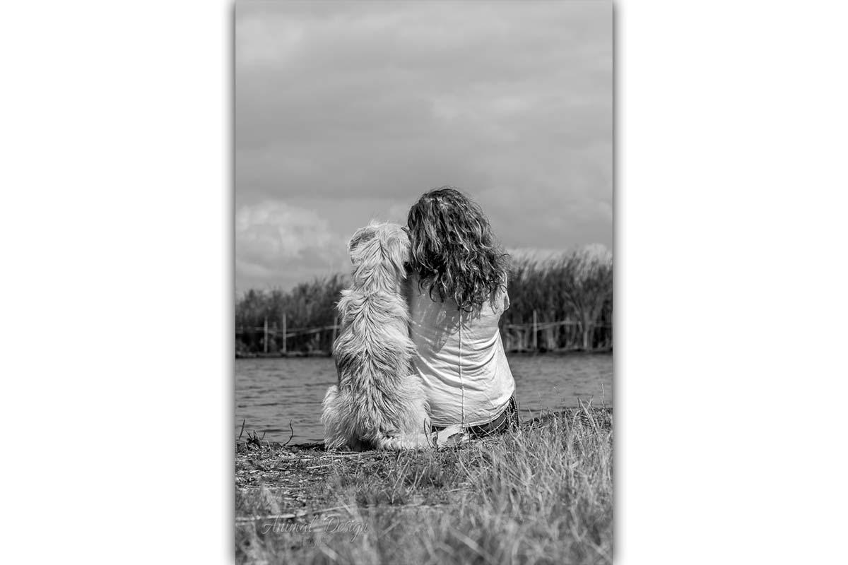 samen met je hond op de foto