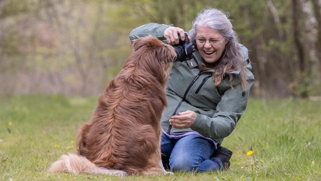 Aan het werk als honden fotograaf